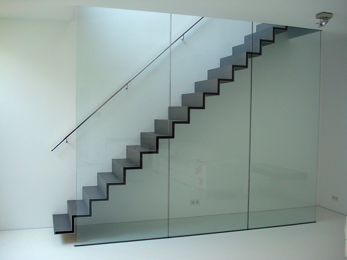 avantgardistische Loft-Treppe von Brüll+Gruber