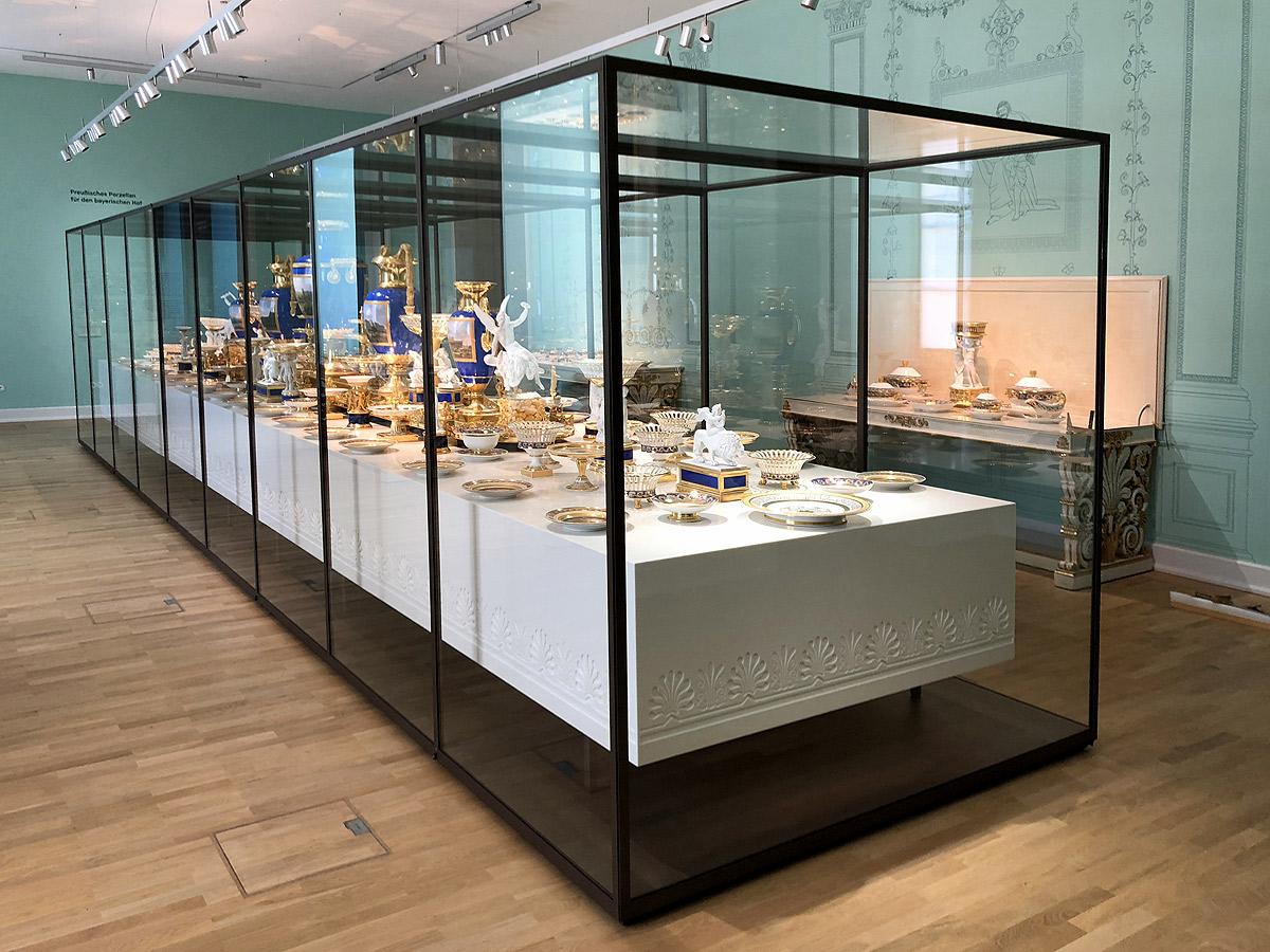 Museumsvitrine Münchner Residenz von Brüll+Gruber