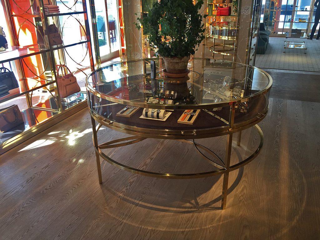 Messing-Tischgestell für Tory Burch von Brüll-Gruber