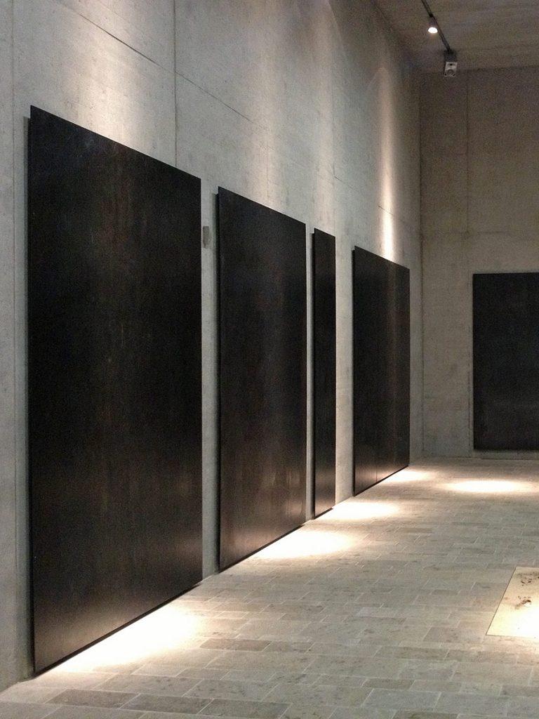 Stahlplatten Ägyptisches Museum von Brüll+Gruber