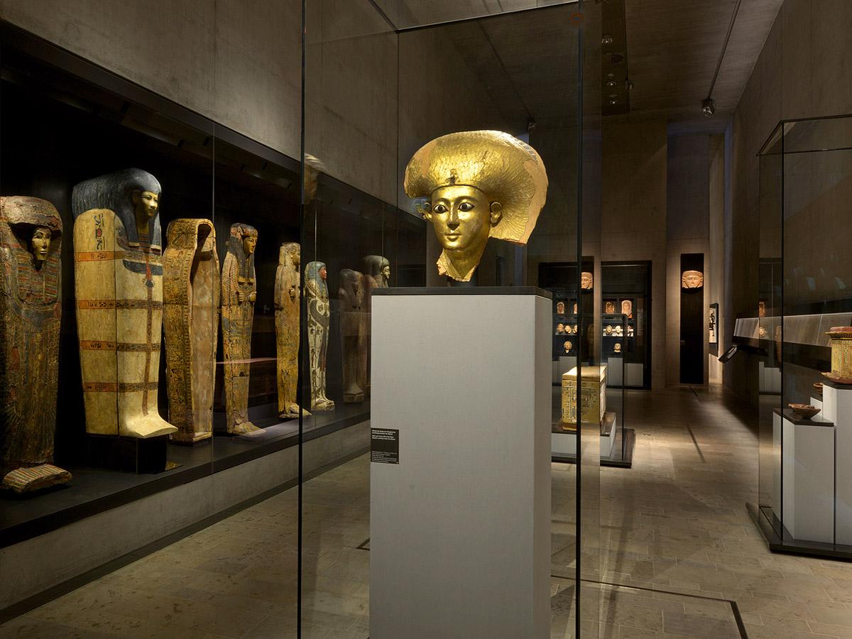 Vitrinenbau Ägyptisches Museum von Brüll+Gruber