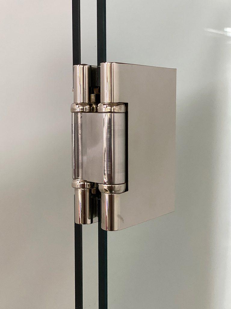Glastür Scharnier für 360 Grad Winkel